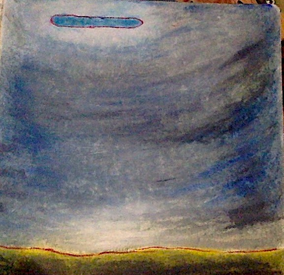 blue ufo